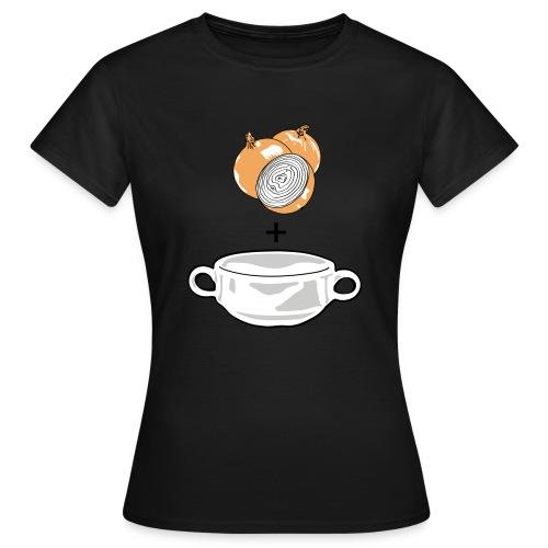 Onion Soup on color - Women's T-Shirt