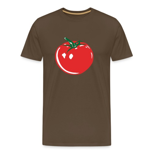Tomato on Color - Men's Premium T-Shirt