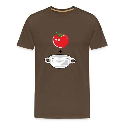 Tomato Soup on Color - Men's Premium T-Shirt