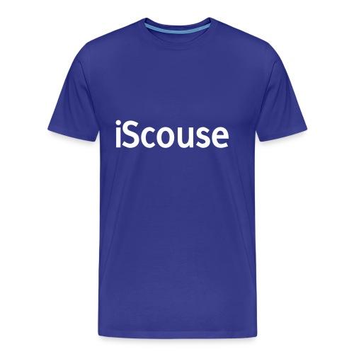 iScouse - Blue T - Men's Premium T-Shirt