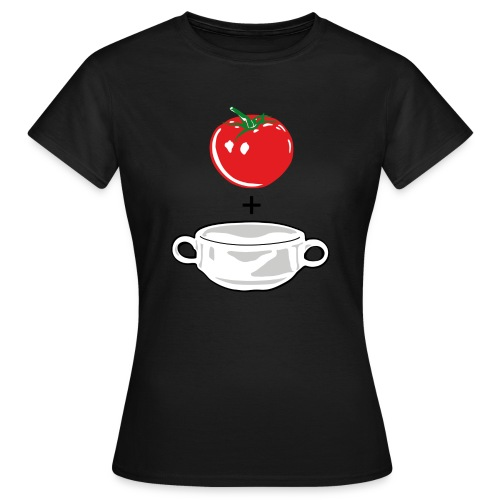 Tomato Soup on color - Women's T-Shirt