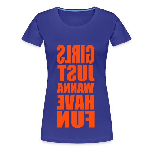 T-shirt Just - T-shirt Premium Femme