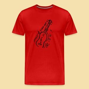 XL Menshirt: Play at your own RISK (Motiv: schwarz) - Männer Premium T-Shirt