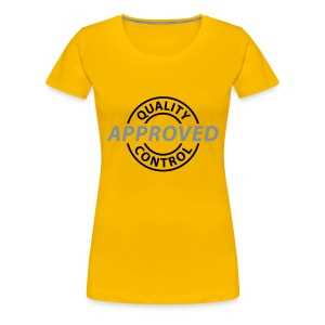 Approved - Frauen Premium T-Shirt
