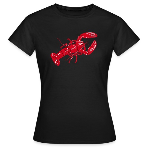 Lobster on color - Women's T-Shirt