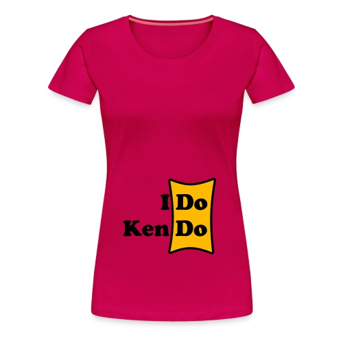 Frauenshirt I Do Kendo - Frauen Premium T-Shirt