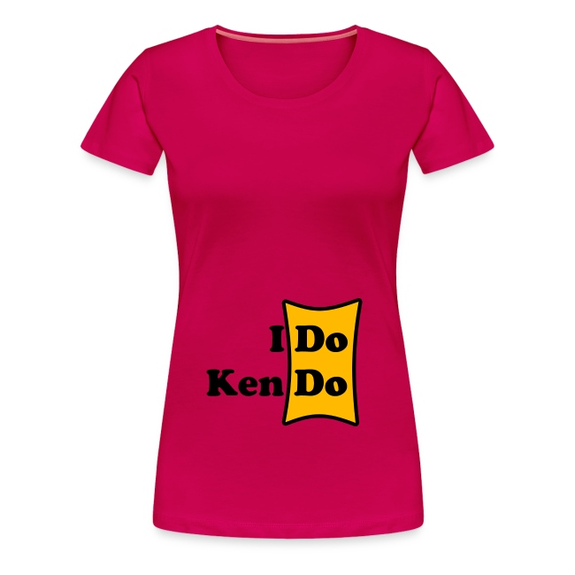 Frauenshirt I Do Kendo