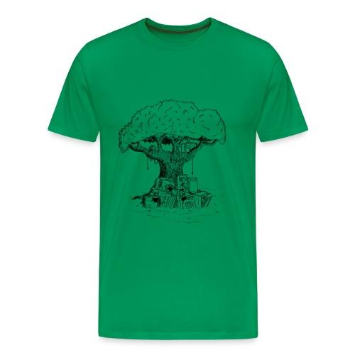 .drzewo - Koszulka męska Premium