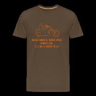 T-Shirts ~ Men's Premium T-Shirt ~ Born Biker T-Shirt