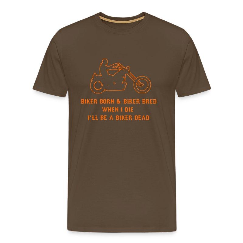 Born Biker T-Shirt - Men's Premium T-Shirt