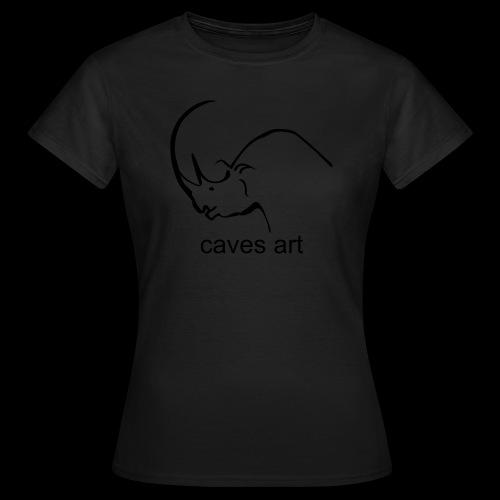 caves art - Maglietta da donna