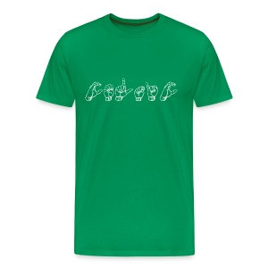 Sign of the Tims - Men's Premium T-Shirt