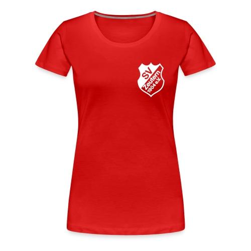 Frauen Girlieshirt rot - Frauen Premium T-Shirt