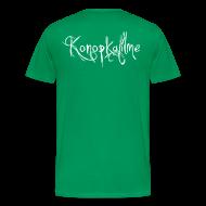 T-Shirts ~ Männer Premium T-Shirt ~ Itze brenn ich erstmal ne CD + Konopkafilme