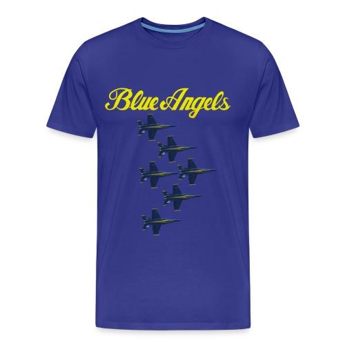 Blue Angels Delta T-shirt - Men's Premium T-Shirt