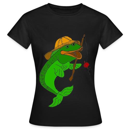 T shirt femme poisson - T-shirt Femme