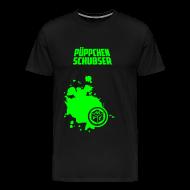 T-Shirts ~ Männer Premium T-Shirt ~ Püppchen Schubser   T-Shirt XXL