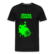 T-Shirts ~ Männer Premium T-Shirt ~ Püppchen Schubser | T-Shirt XXL