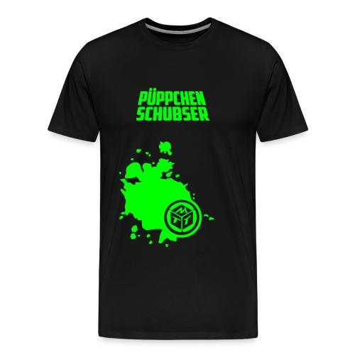 Püppchen Schubser | T-Shirt XXL - Männer Premium T-Shirt