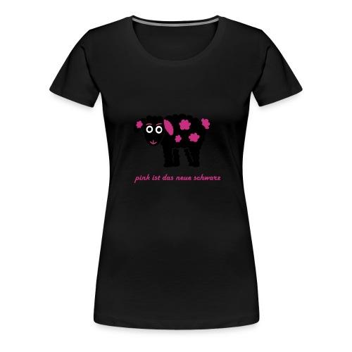 Schwarzes Schaf 2.0 pink - Frauen Premium T-Shirt