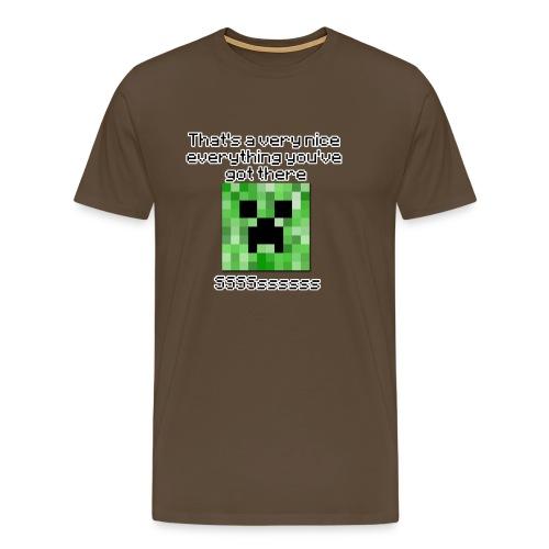 Thats a nice everything!  Men's classic T-shirt - Men's Premium T-Shirt