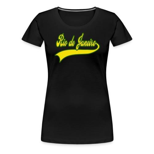 Rio de Janeiro - T-shirt Premium Femme