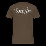 T-Shirts ~ Männer Premium T-Shirt ~ Ach du grüne 9 + Konopkafilme