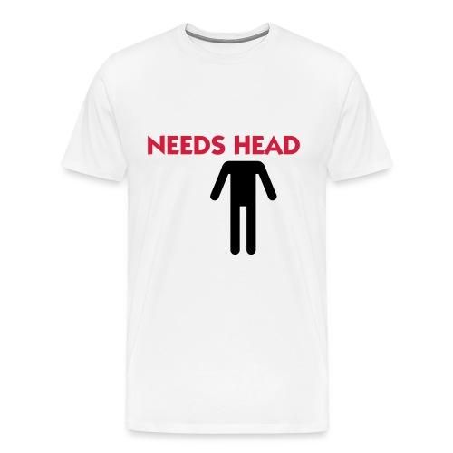 needs head - Premium-T-shirt herr