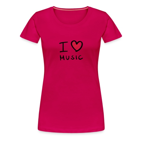 T-Shirt Femme Thomas Blaster I Love  - T-shirt Premium Femme