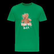 T-Shirts ~ Männer Premium T-Shirt ~ Stachelbär + Konopkafilme