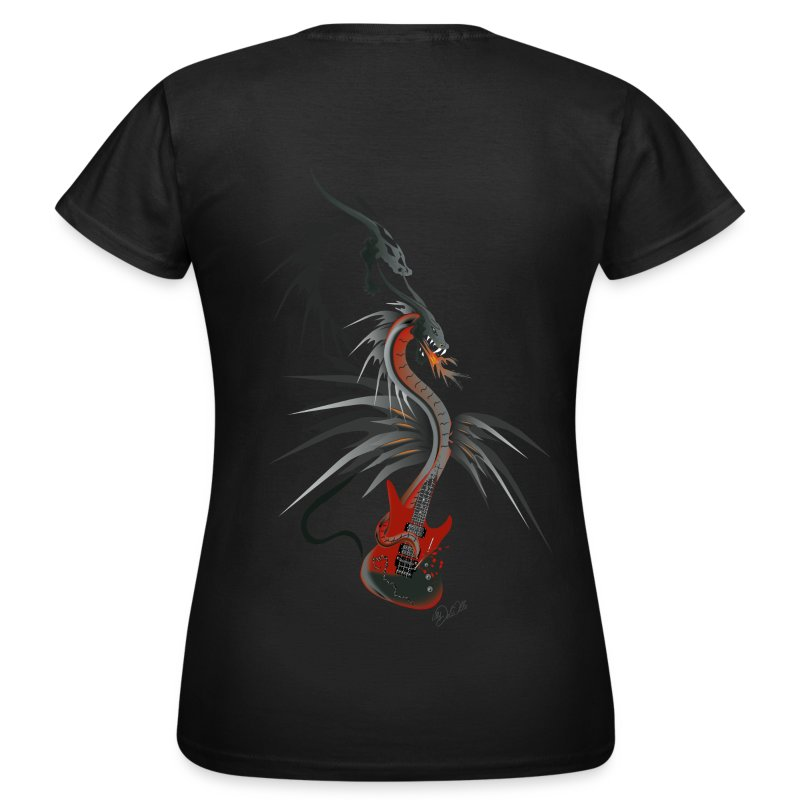 Guitar Dragon farbig - Frauen T-Shirt