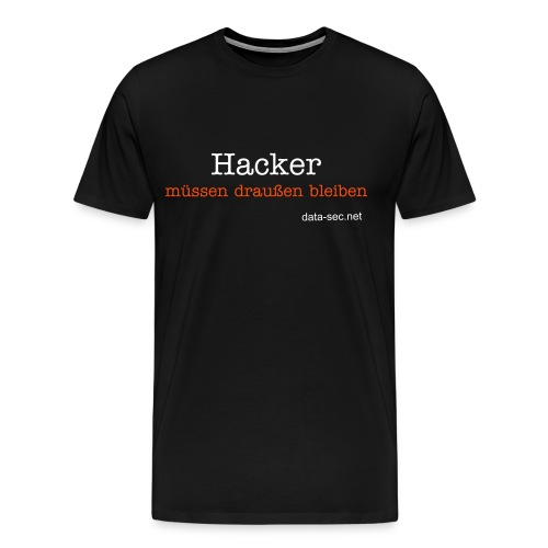 data-sec.net - Hacker (men) - Männer Premium T-Shirt