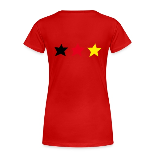 Pin up Fanshirt Deutschland - Frauen Premium T-Shirt