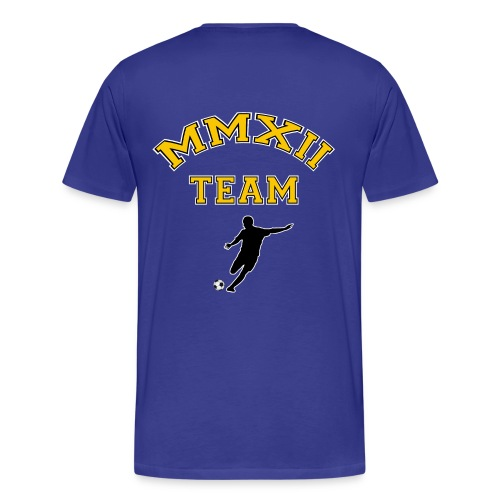 t-shirt soccer - football - Men's Premium T-Shirt