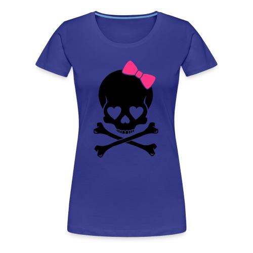 Hello skully - Frauen Premium T-Shirt