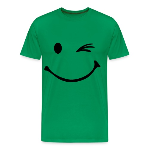 Winky Face - Men's Premium T-Shirt
