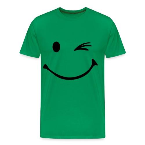 Winky Face - Men's Premium T-Shirt