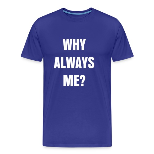 Why Always Me? Balotelli Mens T-Shirt - Men's Premium T-Shirt