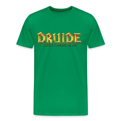 T-Shirt homme DRUIDE (Revele l'animal en moi) - T-shirt Premium Homme