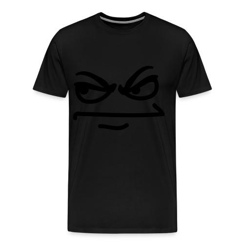 Angry Face - Men's Premium T-Shirt