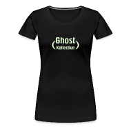 T-Shirts ~ Women's Premium T-Shirt ~ Girlie t' with glow-in-the-dark logo