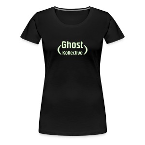 Girlie t' with glow-in-the-dark logo - Women's Premium T-Shirt
