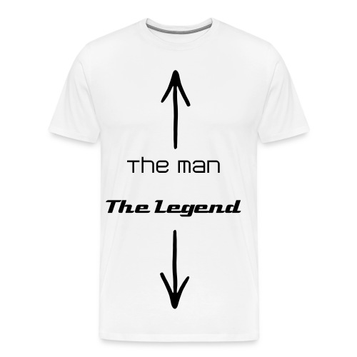 The man, The legend - Men's Premium T-Shirt