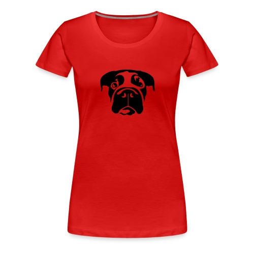 Bulldog (Beth) - Frauen Premium T-Shirt