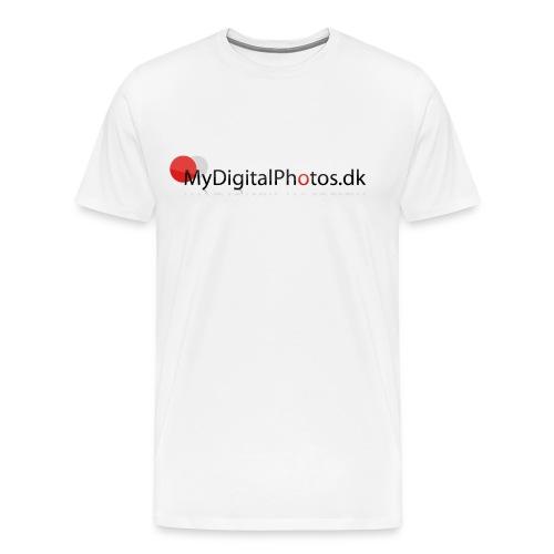 Herre T-shirt - Herre premium T-shirt