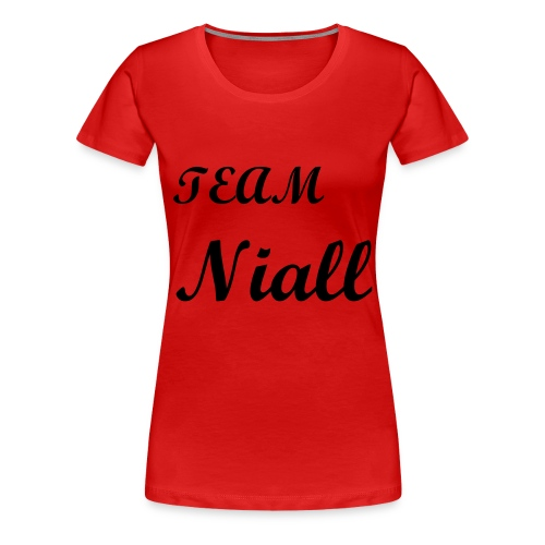 One Direction Fans Tee Niall - Women's Premium T-Shirt