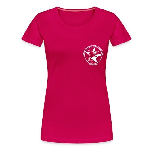 Tshirt Femme Rose - T-shirt Premium Femme
