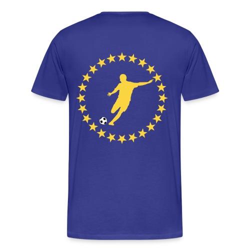 t-shirt football design - Men's Premium T-Shirt