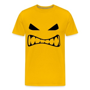 Angry Face - Men's Premium T-Shirt