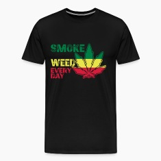 smoke weed every day T-shirt